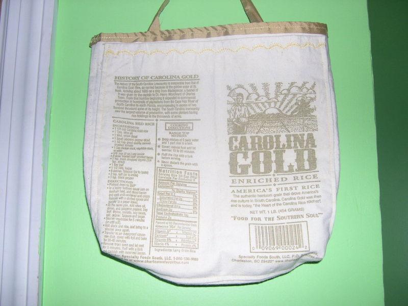 Rice handbag