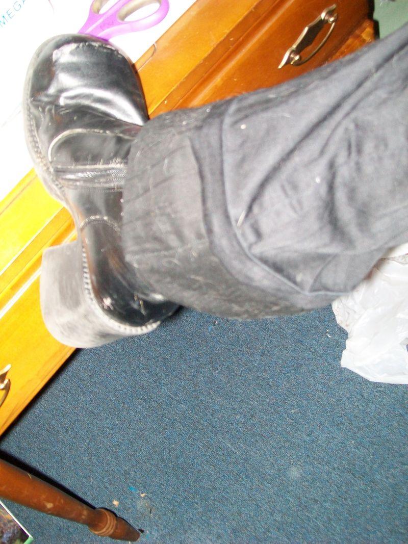 Black pants after close