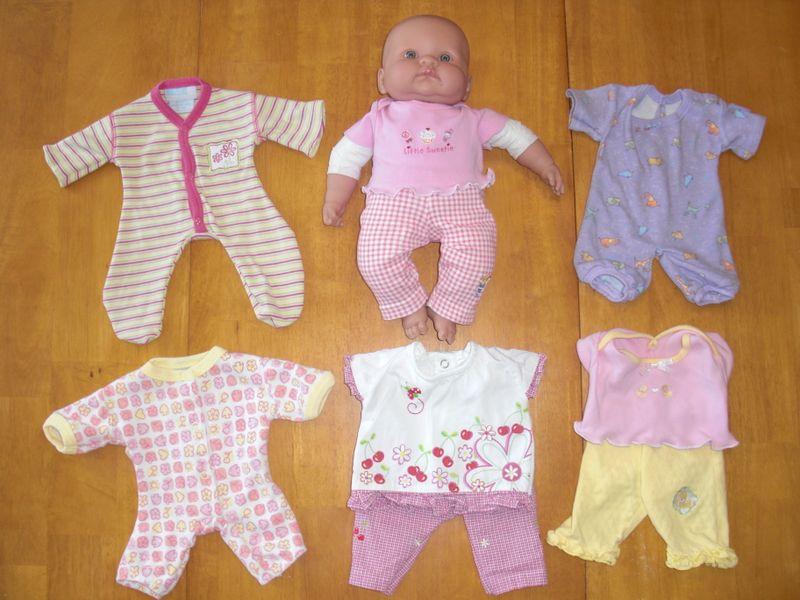 Одежды для барби из носков