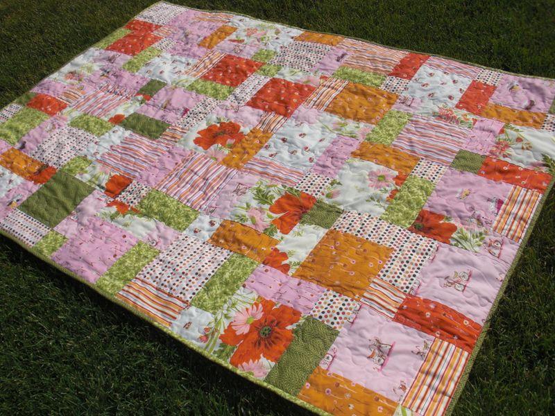 Tablecloth quilt