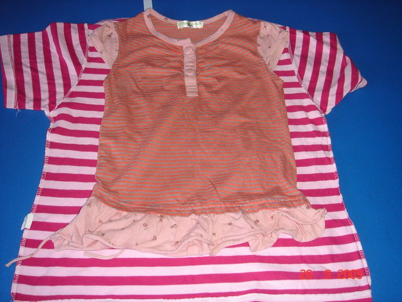 059 ready to recycle old pink tshirt