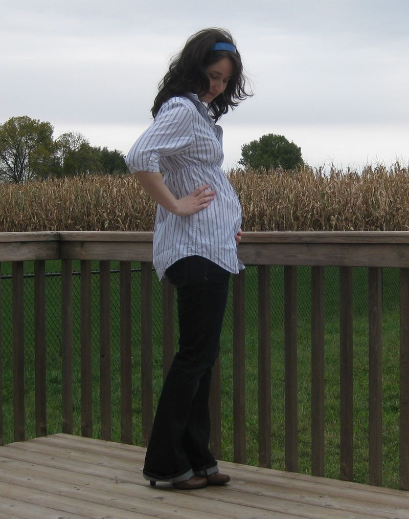 DIY Maternity shirt 1