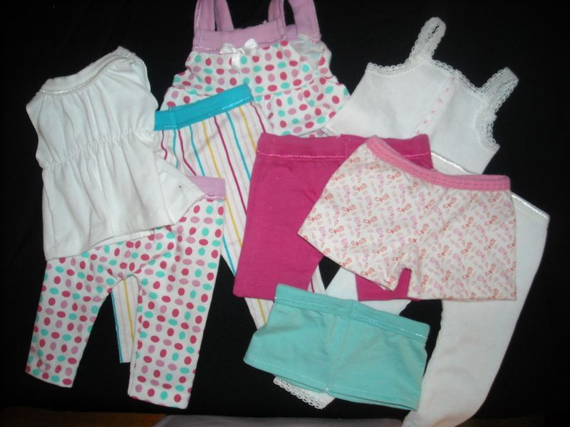 Wardrobe Refashion: Dollar Doll Clothes--from Underwear!