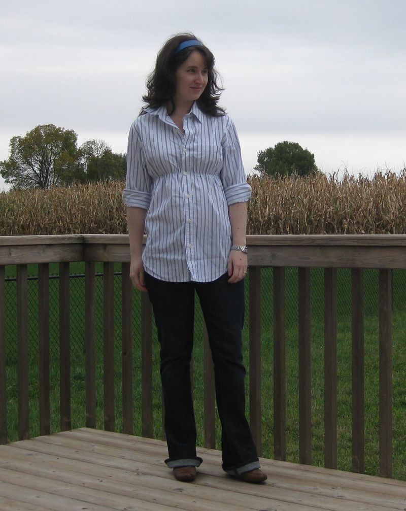 DIY Maternity shirt 2
