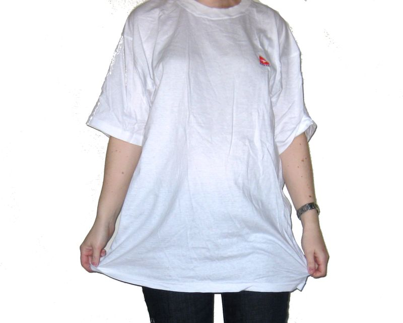 Tshirt to maternity tunic before