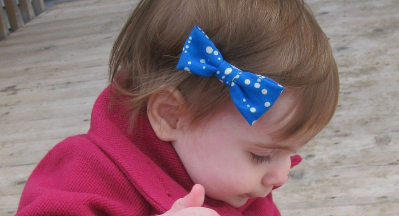 Bunny's blue bow hairclip giveaway 6