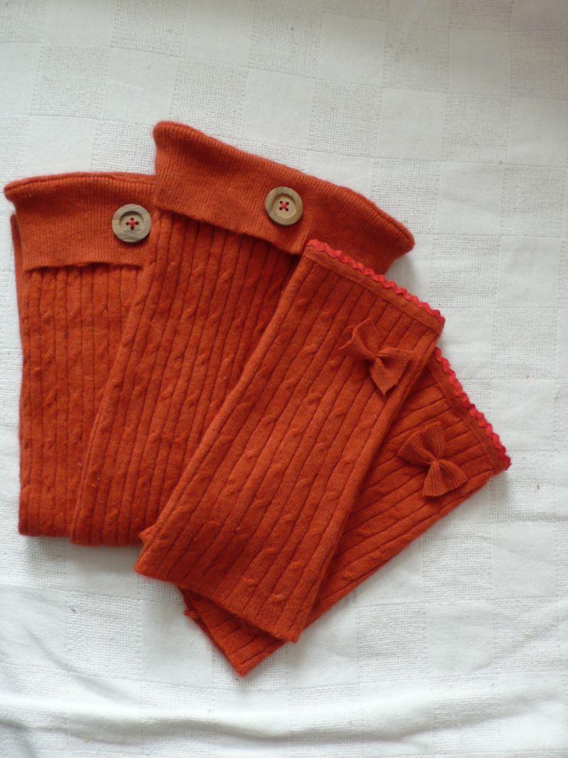 Stulpen orange 9