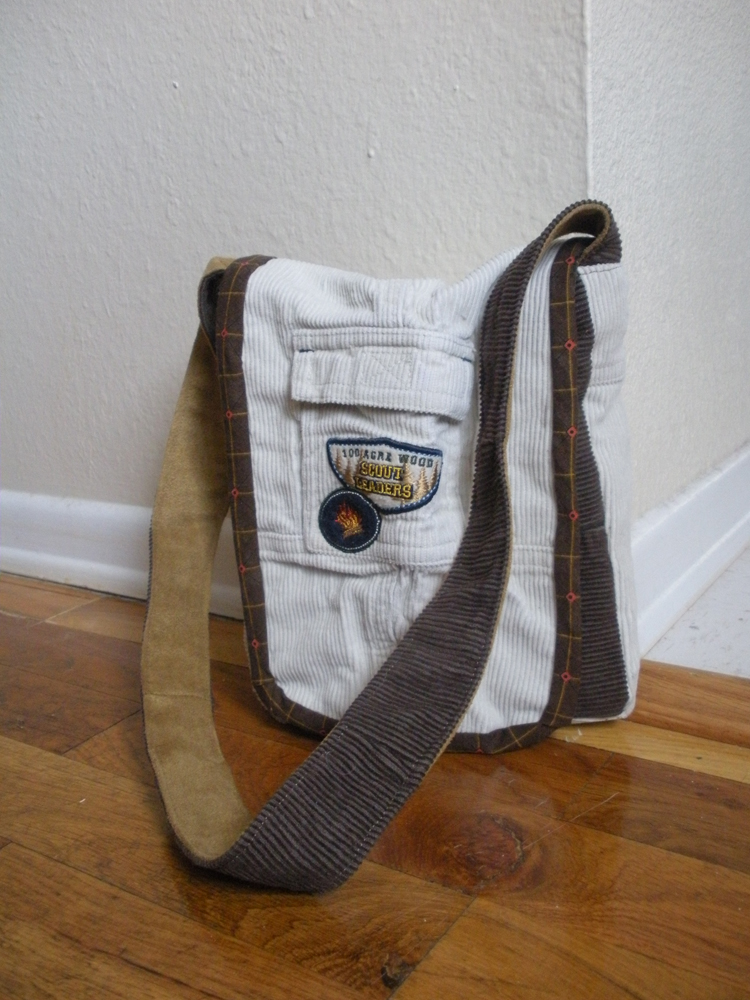 Wardrobe Refashion Toddler Messenger Bag