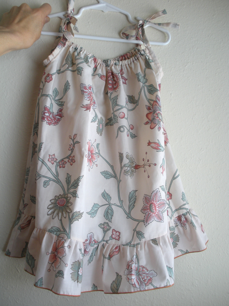 Wardrobe Refashion Vintage Pillowcase Dresses