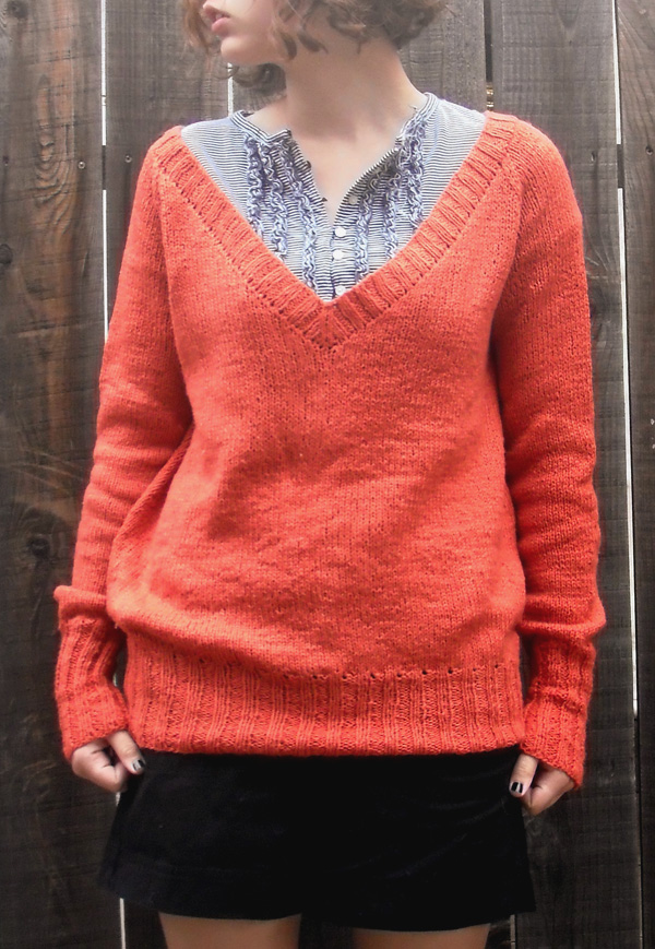 Orange pullover 2