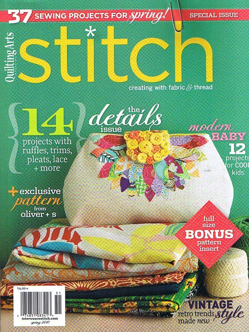 Stitch mag cover