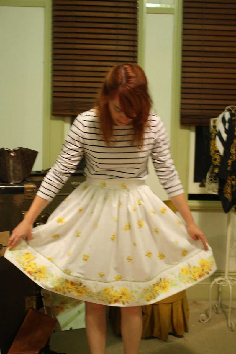 Yellow skirt 2