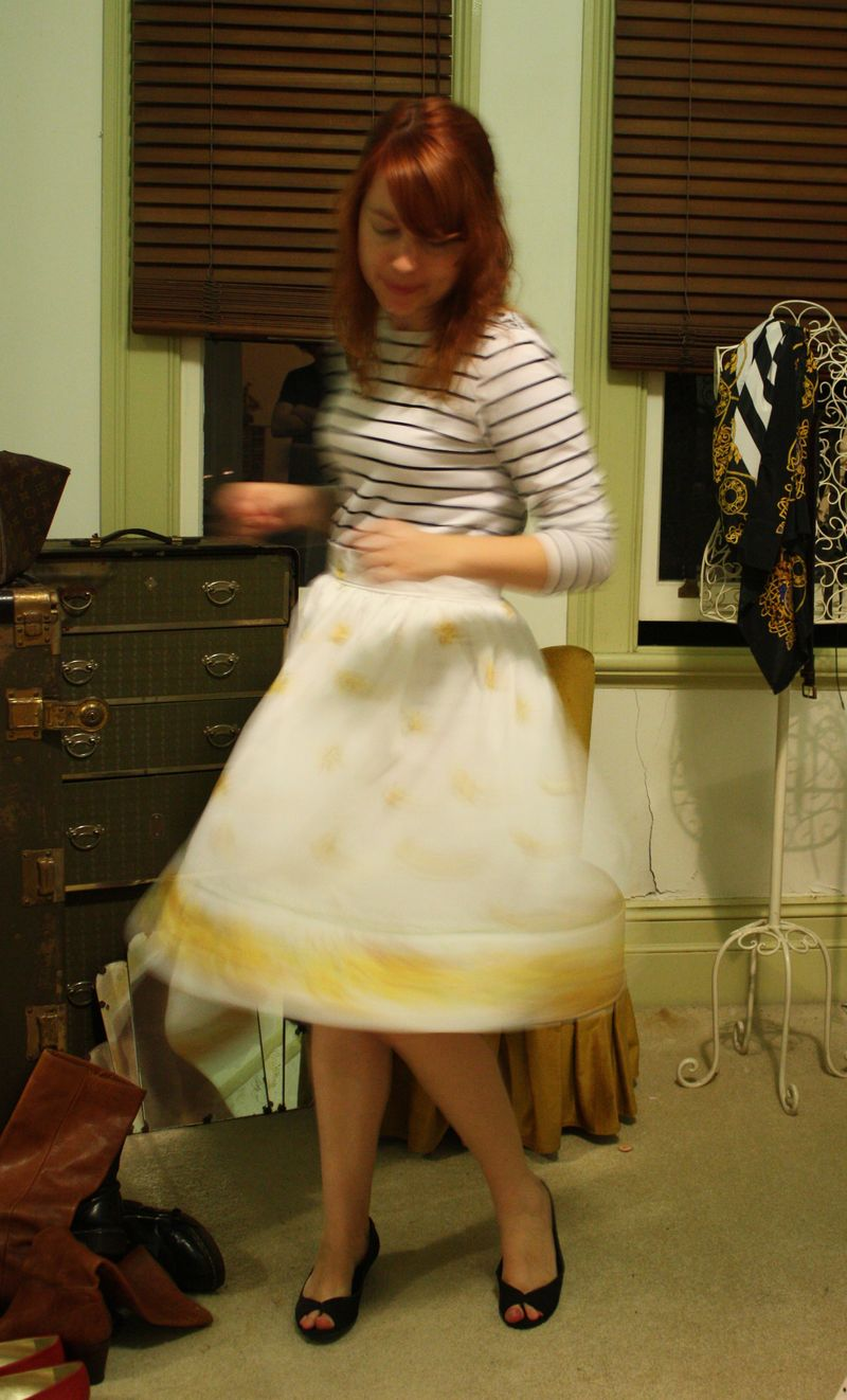 Yellow skirt 4
