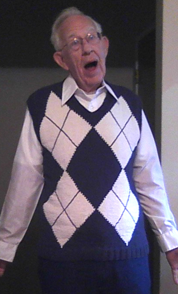 Grampa's vest